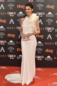 Actress Juana Acosta at photocall during the 31th annual Goya Film Awards in Madrid, on Saturday 4th February, 2017.